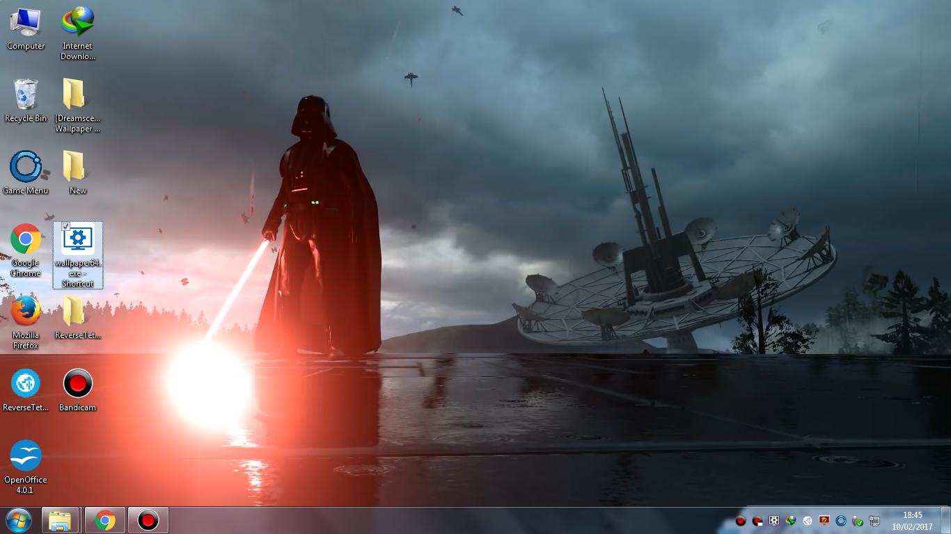 Dreamscenenime Darth Vader Wallpaper Engine