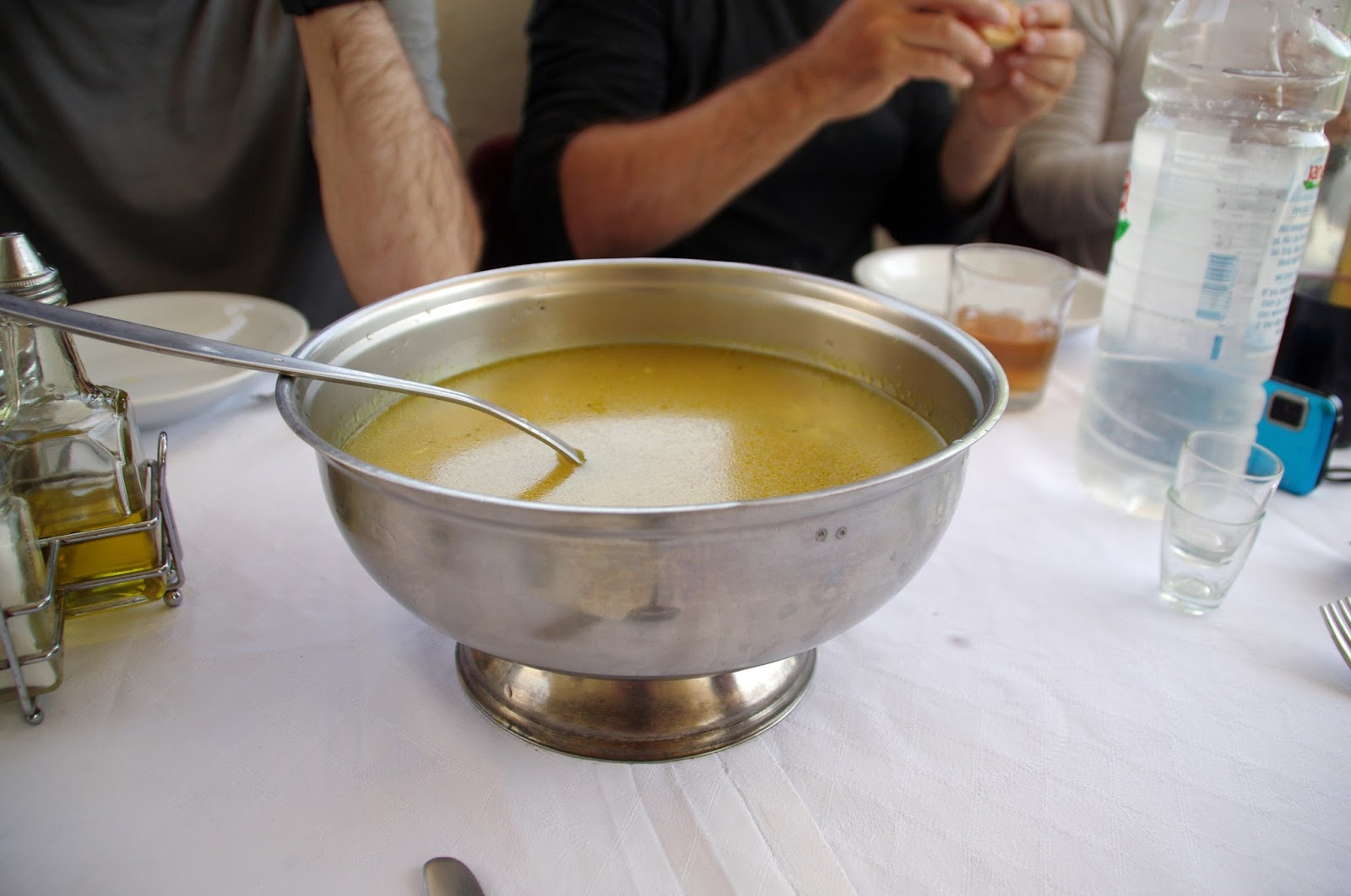 Croatian soup lunch