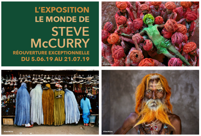 exposition photo Steve McCurry à Lyon