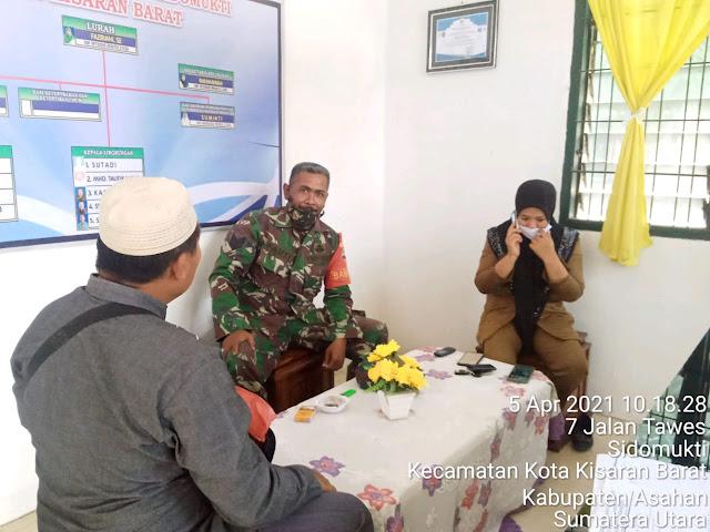 Komunikasi Sosial Dilakukan Personel Jajaran Kodim 0208/Asahan Untuk Mengeratkan Jalinan Silaturahmi Dengan Warga