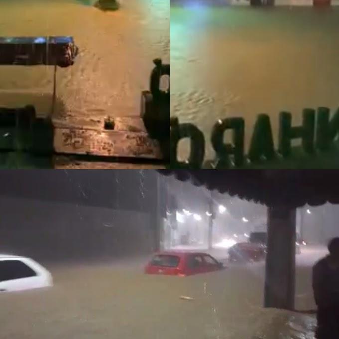 Pernambuco: Chuva em Sanharó causa estragos, deixa desabrigados e chama atenção da mídia nacional