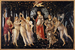 Sandro Botticelli - La Primavera - Google Art Project Source: [Public domain], via Wikimedia Commons From 1482 until 1485 Italian: La Primavera La Primavera (Spring) tempera on panel Uffizi Gallery