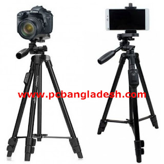 Mobile Tripod With Bluetooth Remote Control