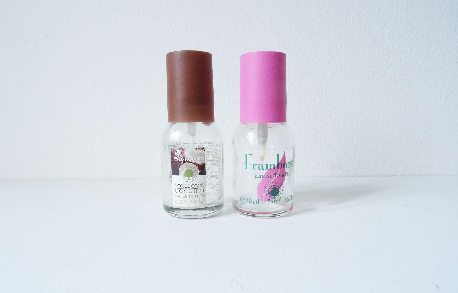 Produits terminés parfums