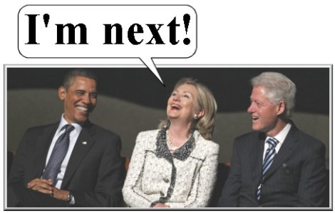 Obama, Hillary and Bill (Moderate Democrats)