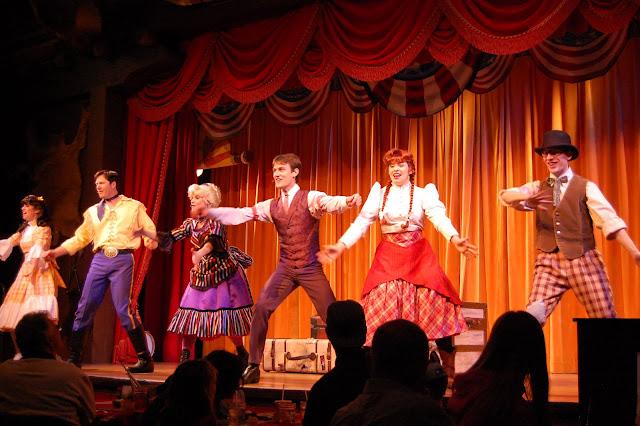 Show Hoop-Dee-Doo Musical Revue na Disney em Orlando