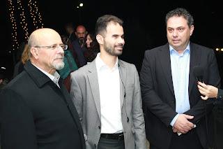 Μανώλης Αχλαδιανάκης, Βαγγέλης Αυγουλάς, Γιώργος Πιτσούλης