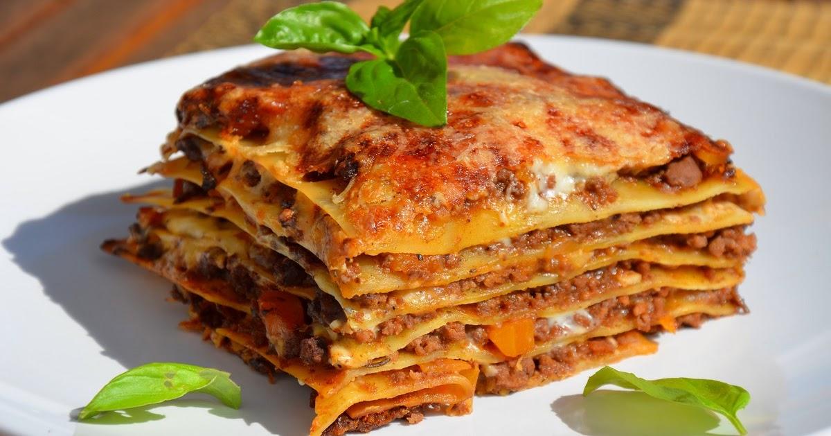 lasagne bolognese — rezepte suchen