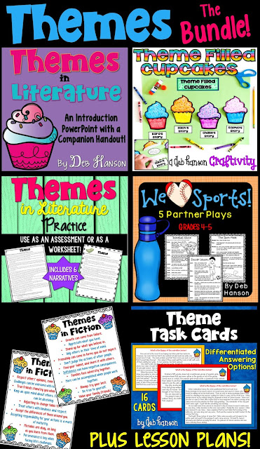 Teach your students how to identify themes in literature with the cupcake analogy! This bundle contains several ready-to-go resources for upper elementary students!