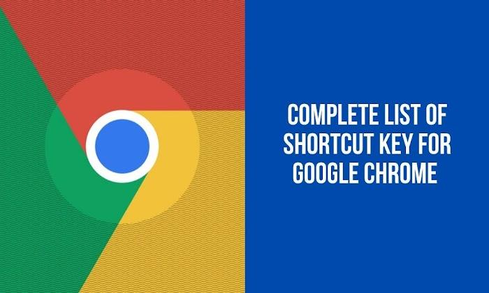 Google Chrome Keyboard Shortcut Keys