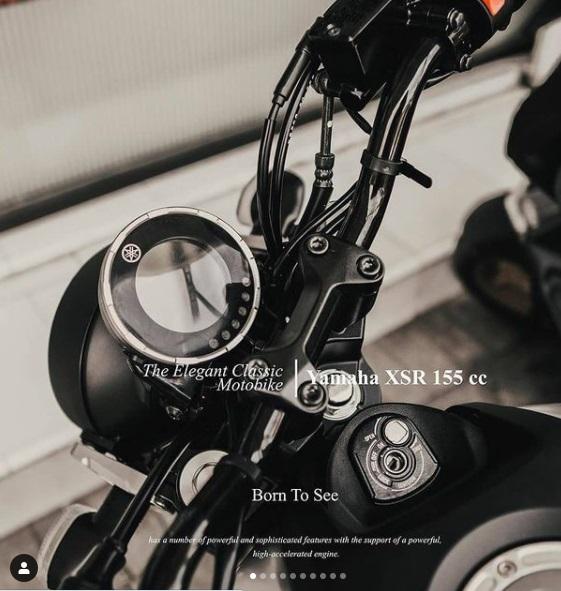 Dashboard Yamaha XSR 155