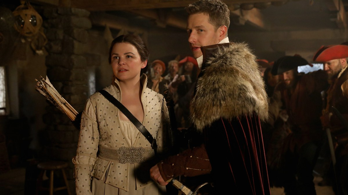Ginnifer Goodwin y Josh Dallas en 'Once Upon a Time'.