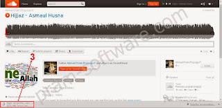 Mendownload Files Musik di Soundcloud