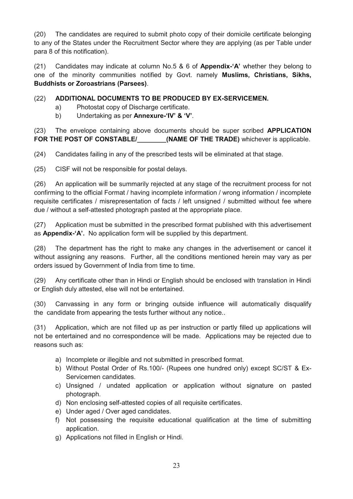 Notification-CISF-Constable-Tradesmen-Posts_23
