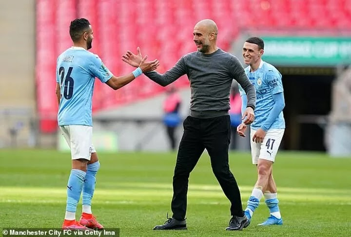 Pep calls on Manchester City to complete treble after sealing Carabao Cup