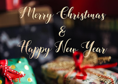 Beautiful Merry Christmas and Happy New Year Wishes