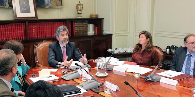 Comision Permanente del CGPJ y Derecho procesal