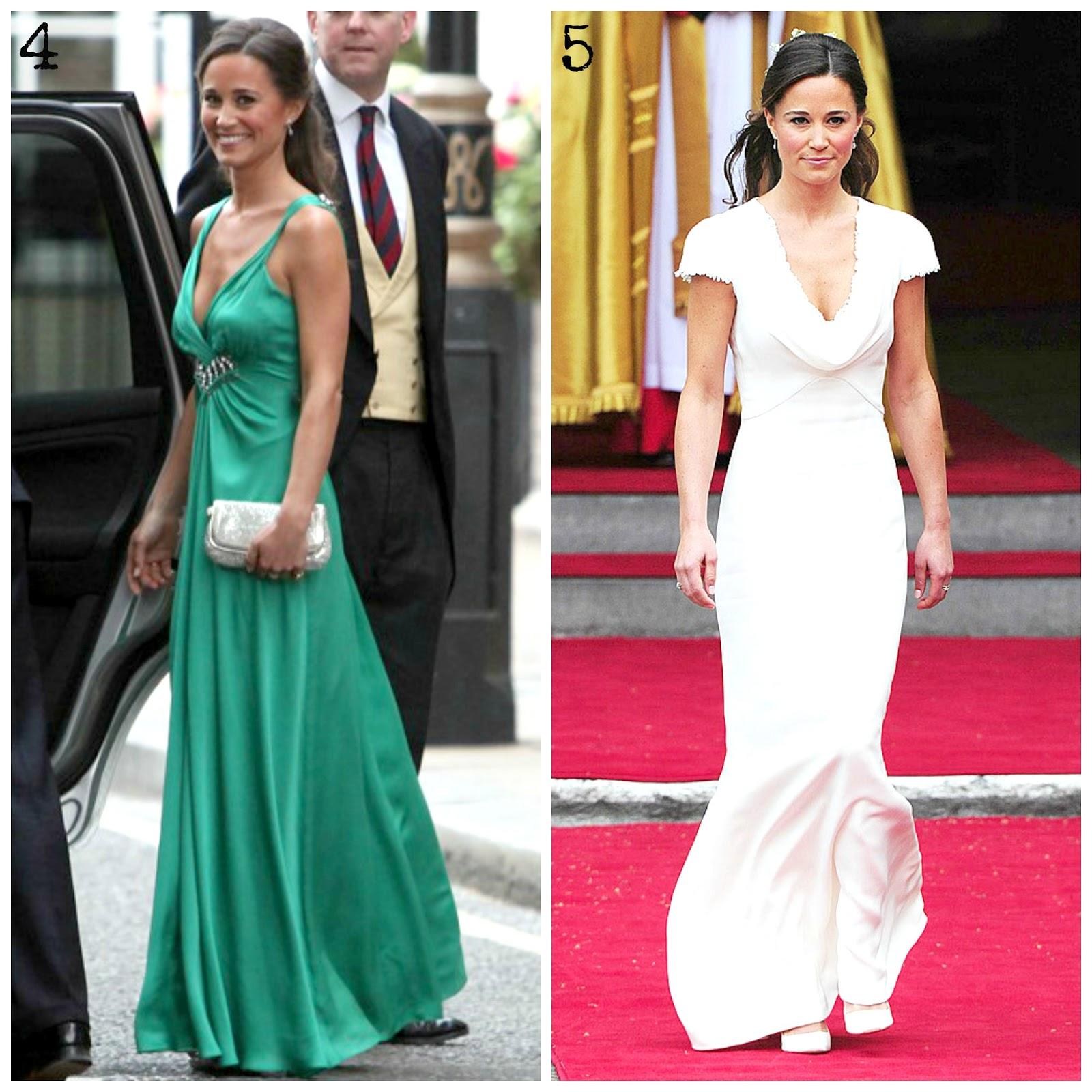 At The Royal Wedding Pippa Middleton S Dress: Pippa Middleton: Princess Of Style
