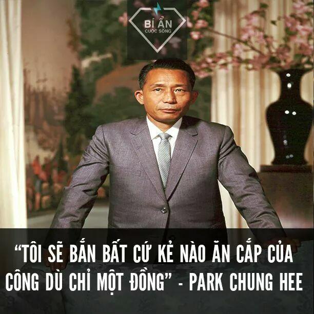Tổng thống Park Chung Hee: Nhà độc tài liêm khiết