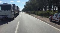 Gran choque entre un auto y una camioneta contra un árbol