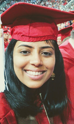 oindree banerjee at her college graduation at nc state on blog how to phd write a statement of purpose for graduate school