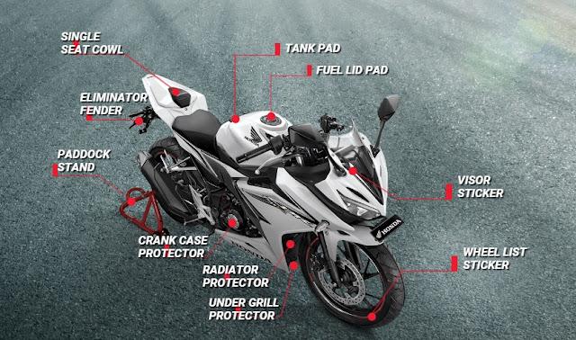 Keunggulan Honda CBR 150R Facelift 2016 info grafis