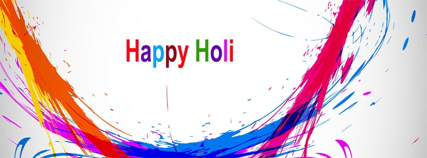 Happy Holi Timeline Pictures