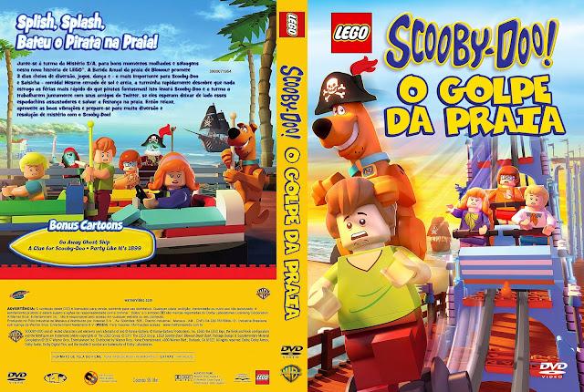 Capa DVD Lego Scooby-Doo! O Golpe da Praia [Exclusiva]