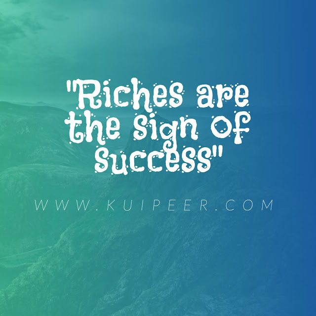 Signs that you will be rich