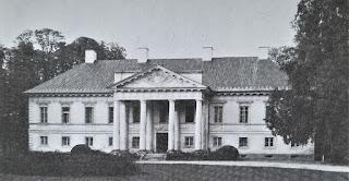 Pałac w Małej Wsi od frontu 1968