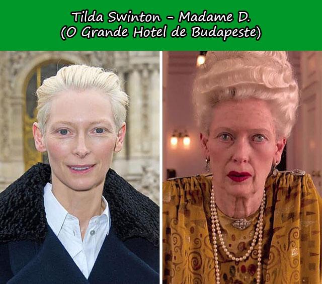 Tilda Swinton - Madame D. (O Grande Hotel de Budapeste)