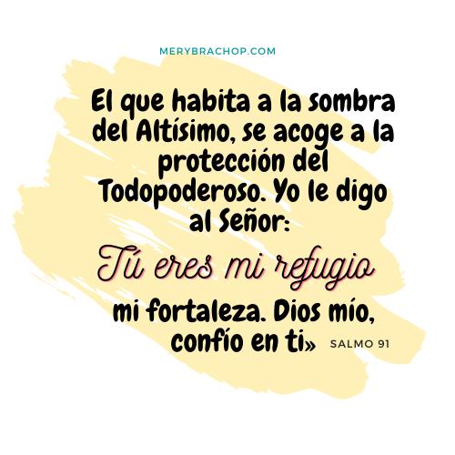 imagen versiculo salmo 91 proteccion noche