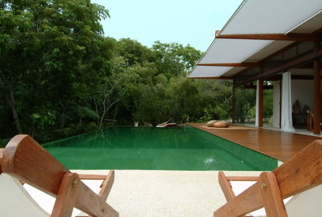 Casa de campo con piscina por andre luque dise o de for Modelos de casas de campo con piscina