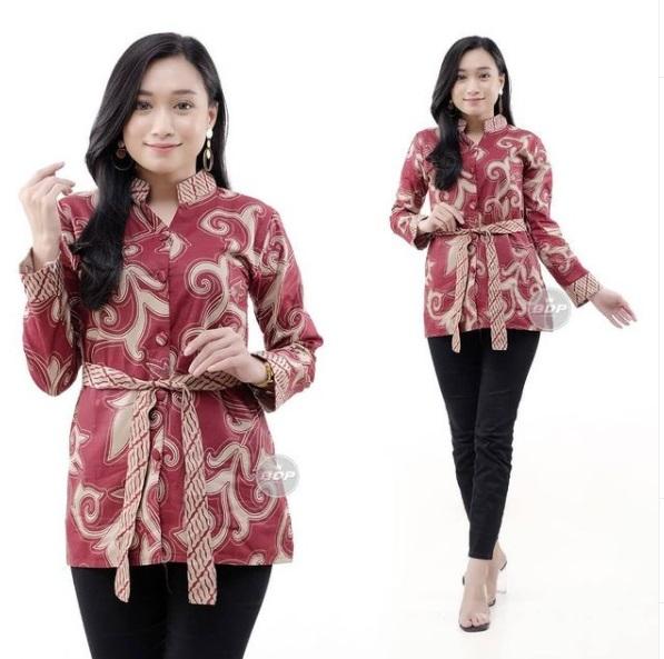 Blus Batik Wanita Terbaru