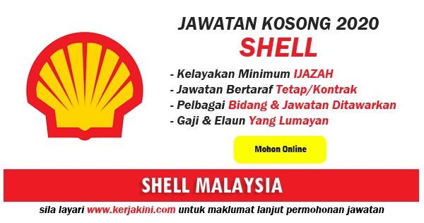 jawatan kosong shell malaysia 2020