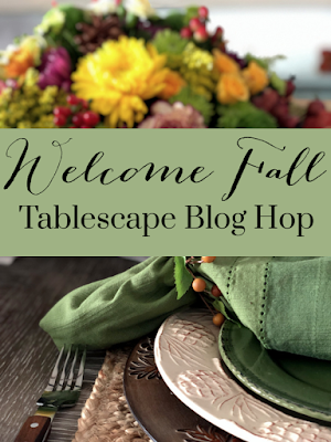 Fall tablescape tour