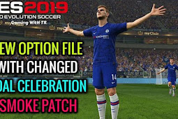 NEW Option File For Smoke Patch 19.2.5 - PES 2019