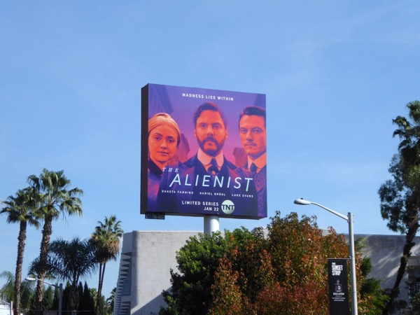Alienist series launch billboard