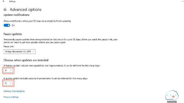 ايقاف تحديثات ويندوز 10 مؤقتا
