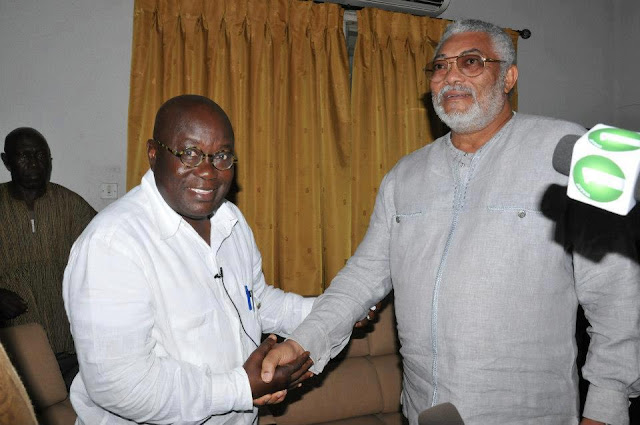 Ex-President Rawlings tells NDC to forget recapturing power in 2020