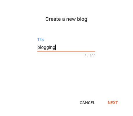 how to create a custom domain in blogger.com