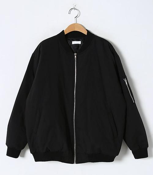 Bomber-Styled Padded Jacket