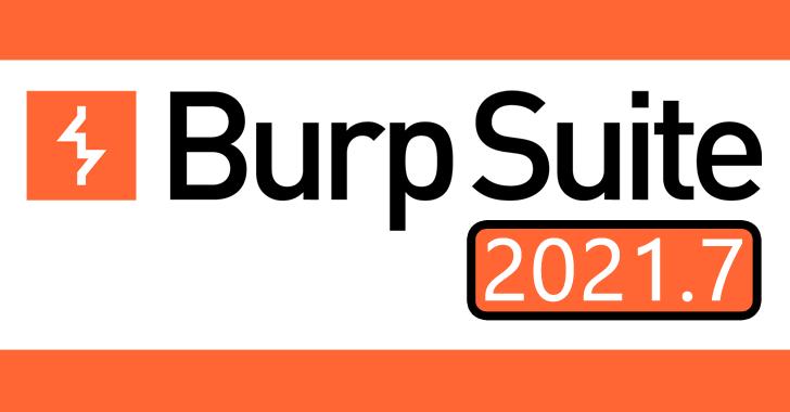Burp Suite 2021.7