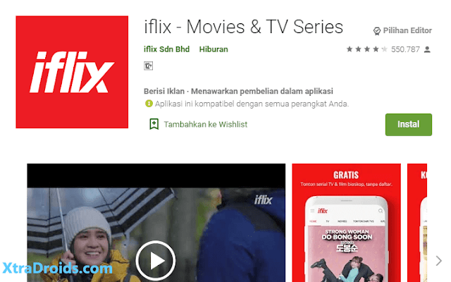 Aplikasi iFlix
