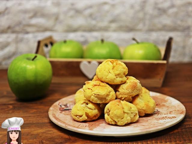 Biscotti alle mele senza burro