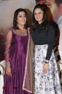 Actress Sonia Agarwal Stills in Black Top at Yevanavan Tamil Movie Audio Launch Event  0007.jpg