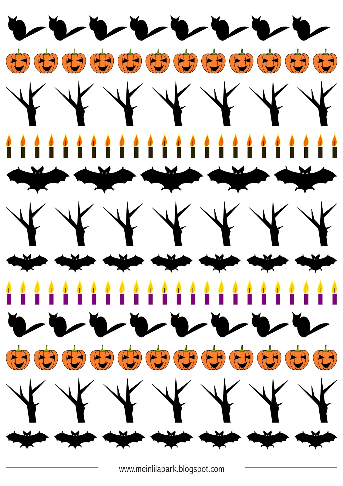 image regarding Free Printable Halloween Borders identify Cost-free printable Halloween borders - ausdruckbare Halloween