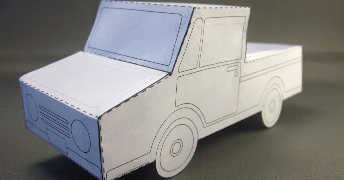 Id Mommy Idmommy Project Paper Truck Pattern