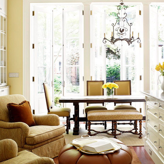 New Home Designer Decoration: New Home Interior Design: Decorating In Yellow
