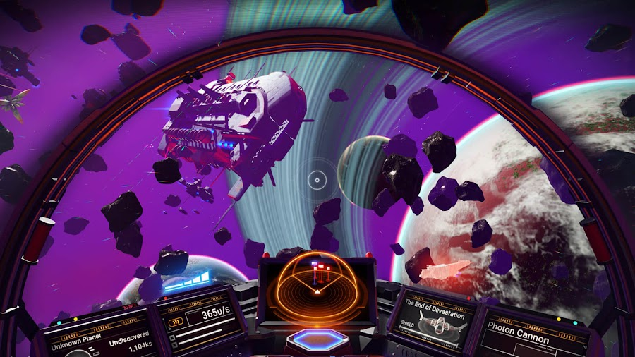 no mans sky synthesis expansion update hello games pc ps4 xb1 starship space map enhancements visual